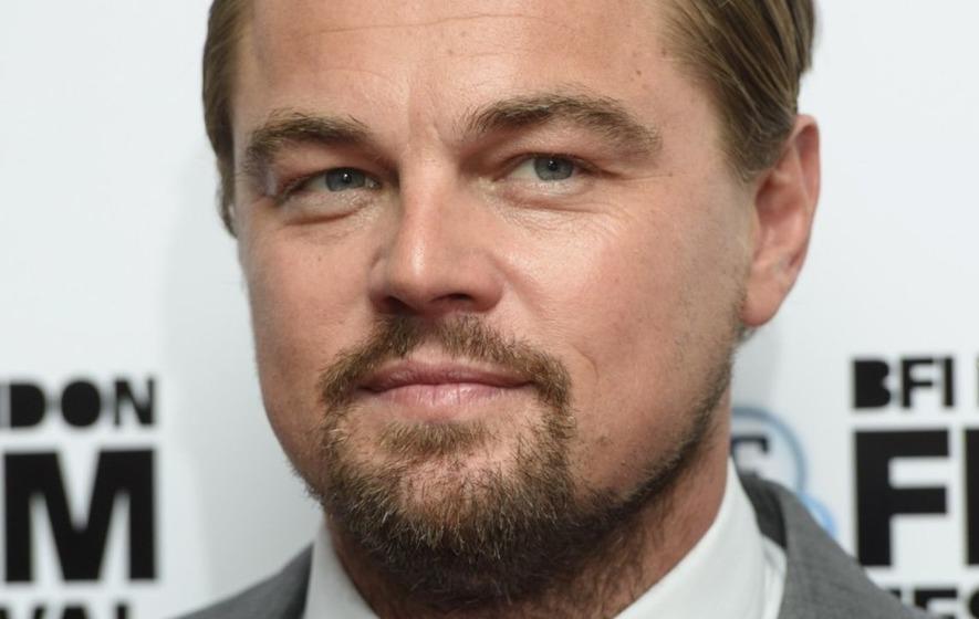 Wait, is that Leonardo DiCaprio getting his meal seasoned by Salt Bae?