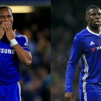 Didier Drogba was absolutely baffled by Kurt Zouma's double six-pack in the Chelsea dressing room