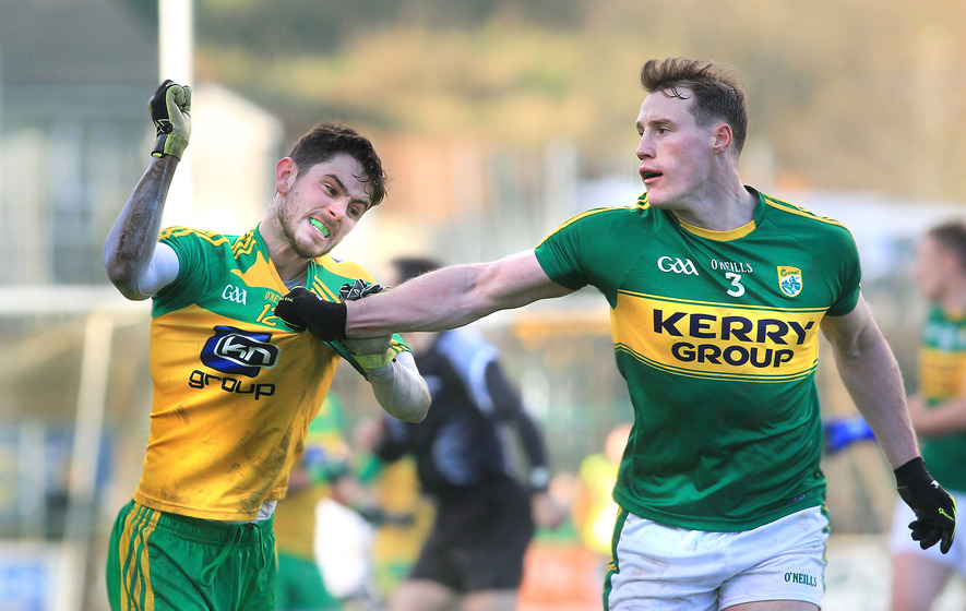 Only three points between them but Kerry streets ahead of Donegal in quality