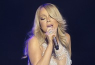 Video: Watch as Mariah Carey burns her wedding dress