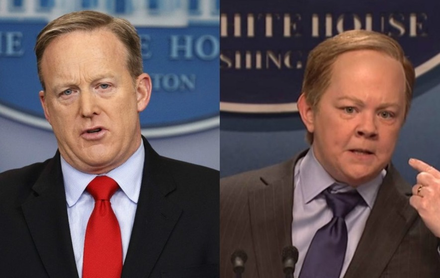 Sean Spicer gets sassy about SNL's parody of his press briefings