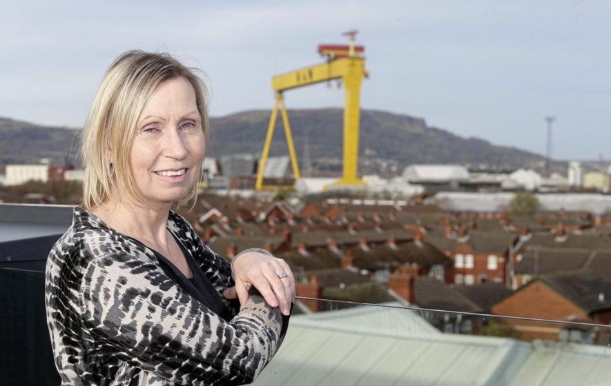 Linda Ervine 'sad' at Arlene Foster's comments on Irish language act