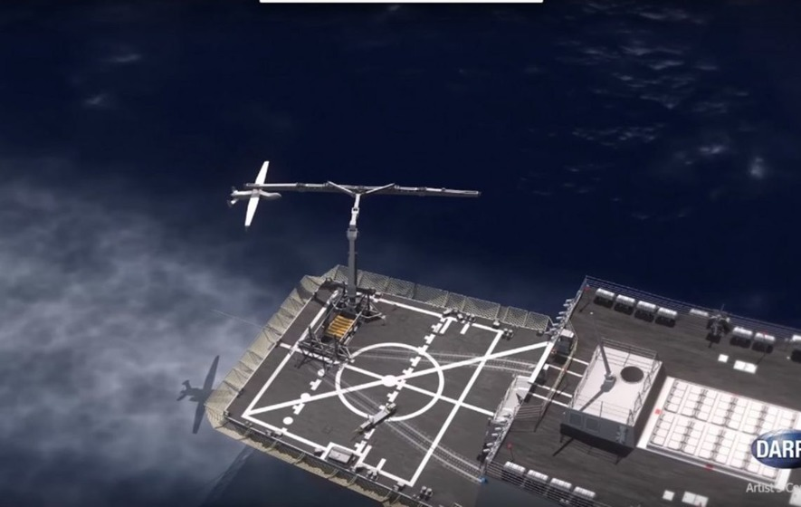 Darpa is working on a net that can catch drones in mid-air