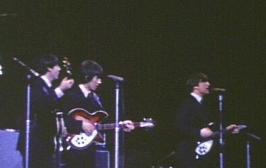 Watch previously unseen Beatles concert footage from their first ever north American tour