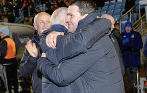 David Healy jubilant as he secures his first trophy as Linfield manager