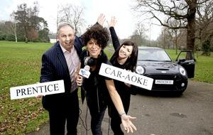 Mini goes maxi with £500 prize for Prentice carpool car-aoke