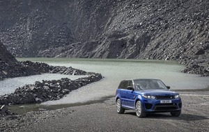 Fastest Range Rover Sport quick - very quick - whatever the terrain or weather
