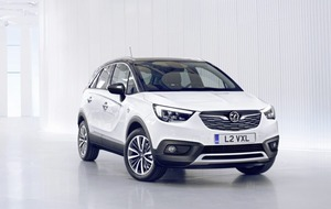 Vauxhall offers more crossover choice with Crossland X