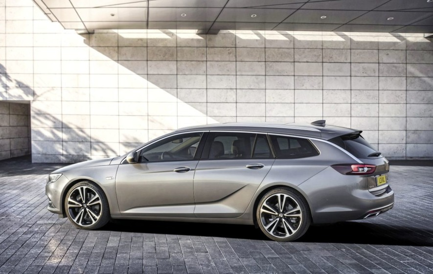 Elegant look for Vauxhall's new Insignia Sports Tourer