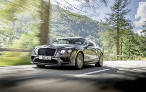 'World's fastest' title for super Bentley