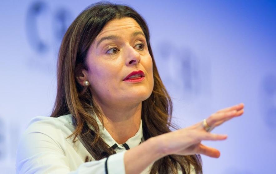 Miriam Gonzalez Durantez was called 'Mrs Clegg' in her invite to speak at an International Women's Day event
