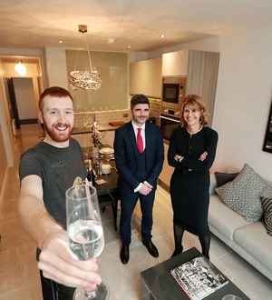 Gallery apartments snapped up ahead of completion