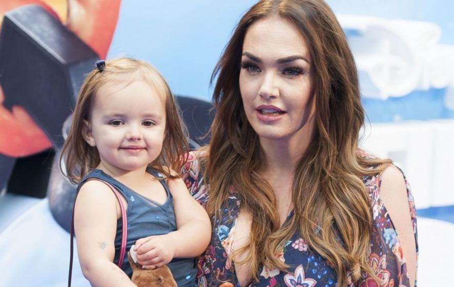 Tamara Ecclestone supports breastfeeding with striking photo