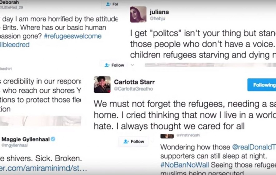 Ever tweeted your thoughts about the refugee crisis? These refugees may be tweeting you right back