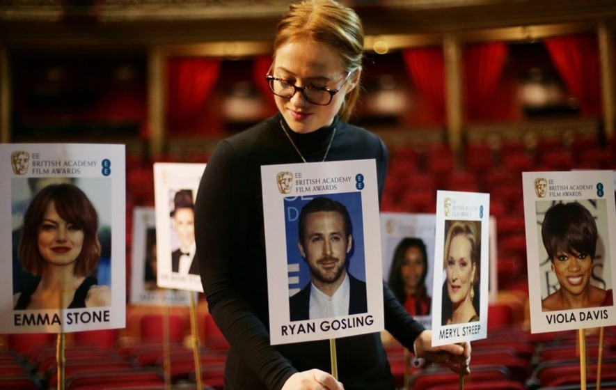 Check out where Ryan Gosling, Emma Stone and co will be sitting at the Baftas