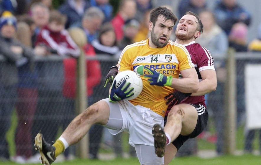 Antrim suffer at the hands of Offaly, losing out by 13 points