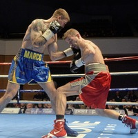 Marc McCullough after Ryan Walsh British title in Copperbox rumble
