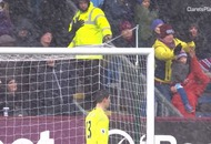 Video: This Burnley hero made the save of the day as a stray shot nearly hit a small child in the face