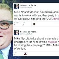 SDLP man getting Mike Nesbitt vote is outspoken critic of UUP leader