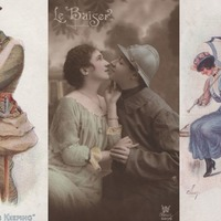 These wartime Valentine's Day postcards offer a glimpse into what romance was like 100 years ago