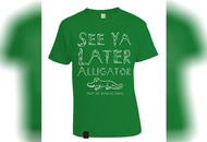 Sinn Féin selling See Ya Later Alligator t-shirts in response to Arlene Foster's Irish language act comment