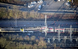 Luxembourg train crash claims at least one life