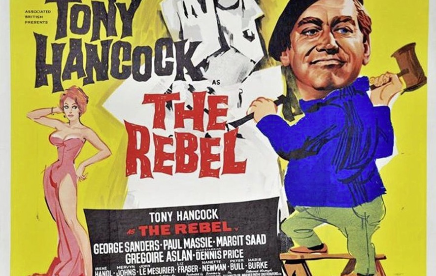 Cult Movie: The Rebel with Tony Hancock