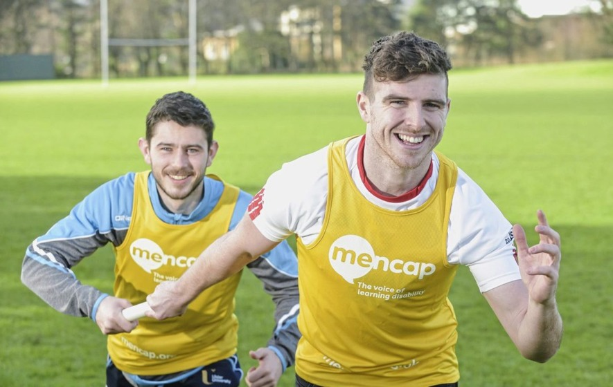 Donegal and Tyrone stars backing Mencap at Belfast City Marathon