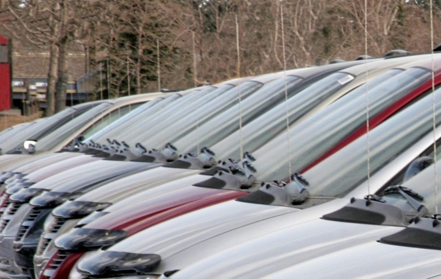 Second-hand car sales hit record level