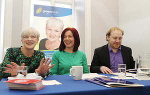 Green Party leader optimistic about East Belfast candidate's election chances
