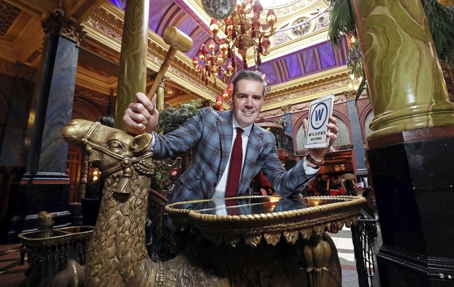 Items from Belfast's Café Vaudeville go under the hammer at Wilson's auctions