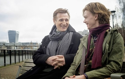Liam Neeson films scenes for Love Actually sequel for Red