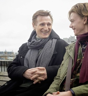 Liam Neeson films scenes for Love Actually sequel for Red Nose Day