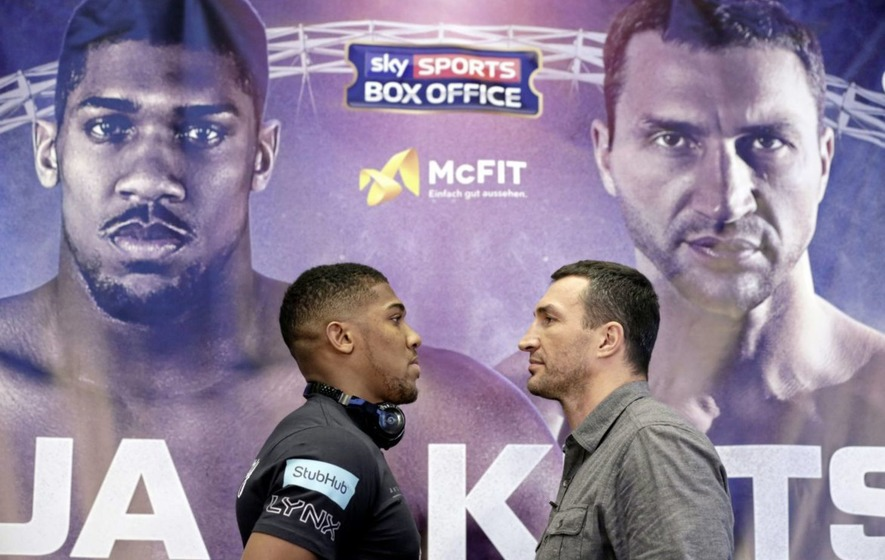 After Wladimir Klitschko, Anthony Joshua eyes world heavyweight domination