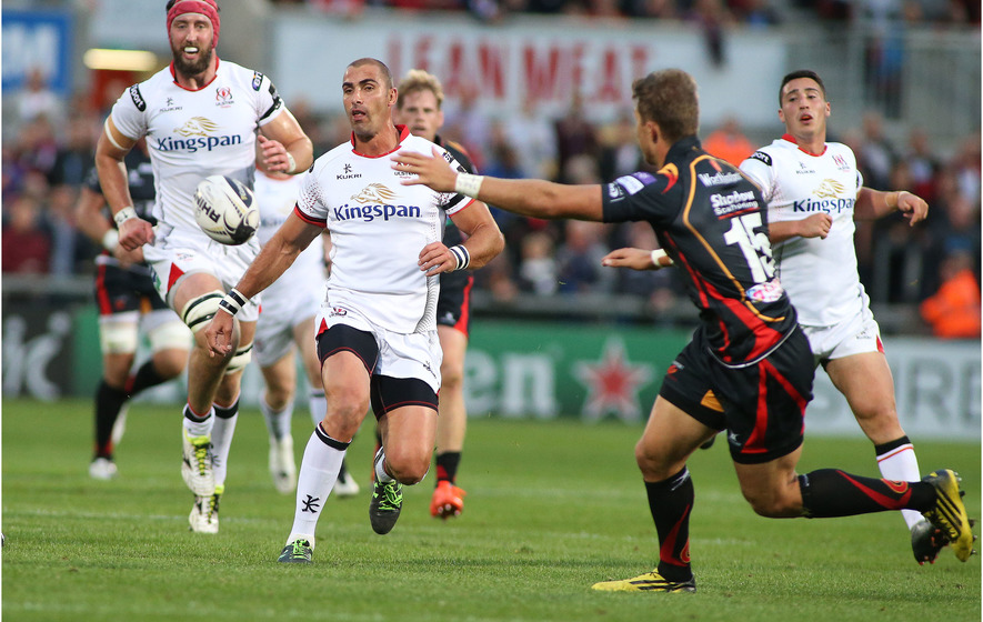 Ruan Pienaar scores brilliant try in Ulster's win over Glasgow