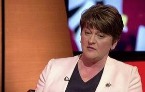 DUP's Arlene Foster cites 'legal issues' over Sinn Féin corruption claims