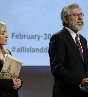 Gerry Adams says hard Brexit inevitable unless north gets special EU status