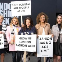 Could mature models be the hot new thing to hit the catwalk at London Fashion Week?