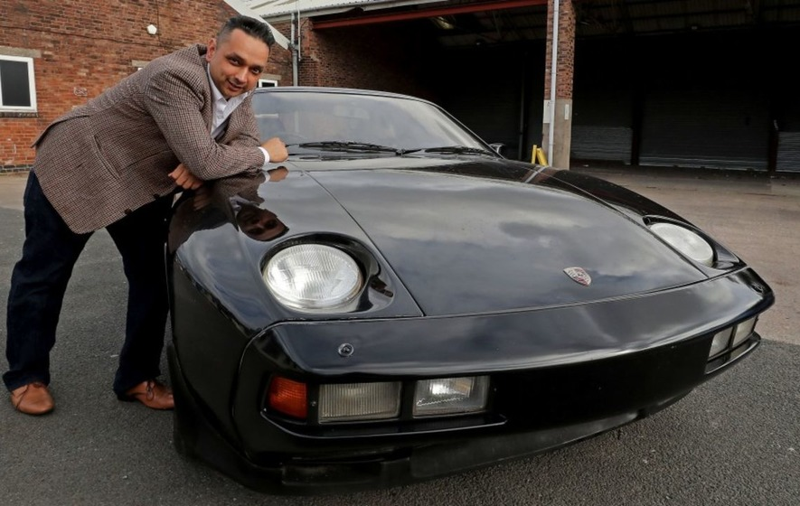 George Harrison's old Porsche to sell for £20,000 at auction