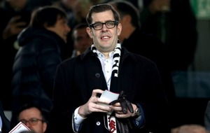 Richard Osman was the real star of the show at the Fulham v Tottenham FA Cup tie