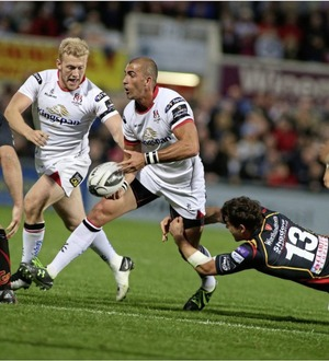 Ulster continue their PRO12 revival with bonus point win over Glasgow
