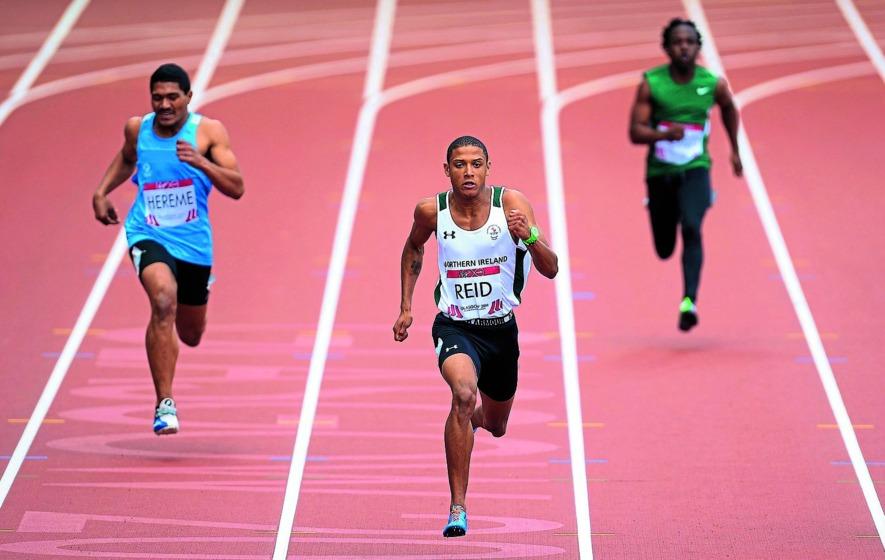 Leon Reid takes double sprint gold at the Irish Senior Indoor Championships