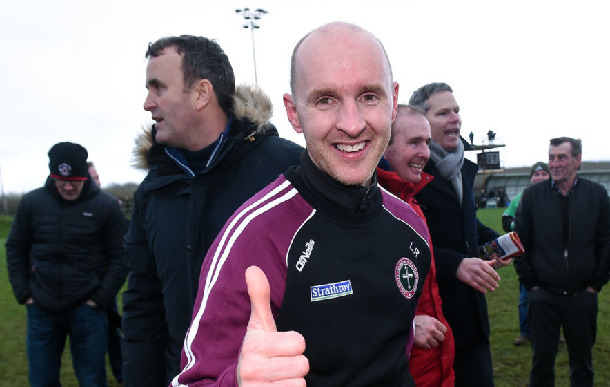 Video: capturing delight of St Mary's coach Paddy Tally after Sigerson triumph