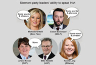 Just 3% of assembly candidates speak fluent Irish