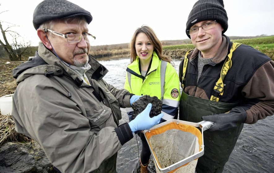 New river bed brings life to the Lagan