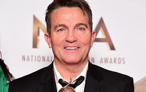 Bradley Walsh 'just laughed' when he was named UK's most successful debut artist