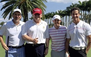 Rory McIlroy insists he does not 'endorse' Donald Trump after pair played golf