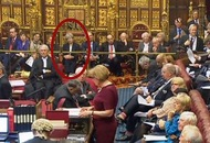 Theresa May sat in House of Lords for the Brexit debate and everyone's convinced she's giving the 'hard stare'