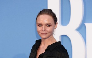 Stella McCartney apologises after bumping Mini Cooper into taxi