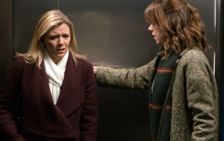 Corrie viewers unconvinced by Leanne's labour scene